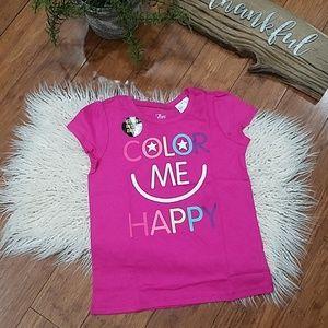 NWT Children's Place Pink Girls T-Shirt (SZ 4t)